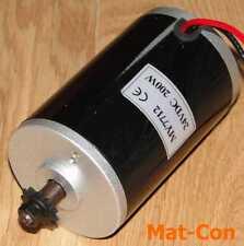 "DC Elektromotor UNITE MY7712 200W 24V, 0,55Nm, 3500U/min, Welle 8mm, Ritzel 1/4"""