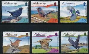 Alderney 2007 Resident Birds (2nd) MSA316-321 MNH