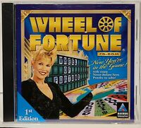 Wheel of Fortune CD-ROM (PC Computer Game 1998)  NICE !