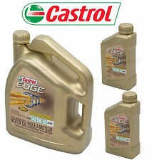7-Quarts CASTROL EDGE 5w30 Fully Synthetic  European Formula Motor Oil