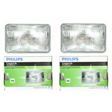 Two Philips Long Life Sealed Beam Light Bulb H4651LLC1 for H4651 H4651LL he