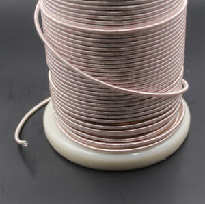 1m Litz wire, 0.05mm x 1650 strands, for crystal radio coil, 1650/44