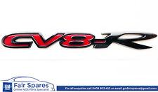 Genuine Holden Badge CV8R for Cv8-R VZ Trunk Decklid Bootlid Gloss Black/Red