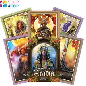 The Gospel Of Aradia Oracle Deck Cards Esoteric Fortune Telling Blue Angel New