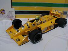 Minichamps 540871812 # Lotus Honda 99T Formel 1 1987 Ayrton Senna # Camel 1:18