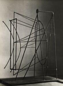 1949 Brassai Original Photo Gravure Of Pablo Picasso 1930 Metal Wire Sculpture