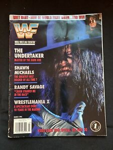 MARCH 1994 WWF Event PROGRAM Autographed By WWF Wrestlers w/BLACK JACK LANZA