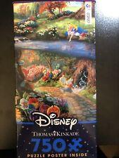 Ceaco Thomas Kinkade Disney Alice in Wonderland 750 Piece Puzzle