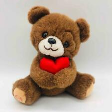 "Vintage 9"" Applause Sweetheart Bear Plush w/ Unique Heart Birthmark Valentine's"