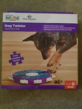 Nina Ottosson Dog Twister Treat Dispensing Brain and Exercise Game for Dogs