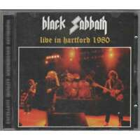 "BLACK SABBATH  ""Live In Hartford 1980"" (Soundboard) (RARE CD)"