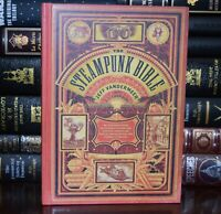 New Steampunk Bible Illustrated Guide Imaginary Airships Scientists Hardcover