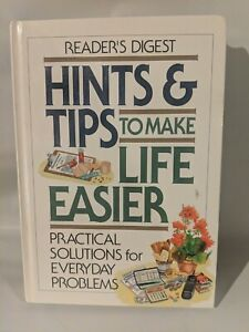 Reader's Digest Hints And Tips To Make Life Easier. 1997 Hardcover Like New