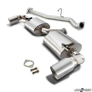 JAPSPEED STAINLESS CATBACK RACE SPORT EXHAUST SYSTEM FOR MAZDA RX8 RX-8 03-12