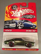Hot Wheels Modern Classics - Spectraflame Olive '68 Olds 442 #13 (T03)