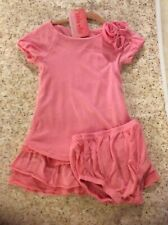 NWT Ella Moss Dress W/ Diaper Cover 18-24 Mth Pink