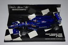 Minichamps F1 1/43 PROST PEUGEOT 1998 LAUNCH VERSION - OLIVIER PANIS