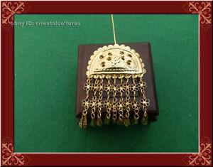 Classic Hair Accessory tribal handmade miao silver gilt headgear hairpin 1piece