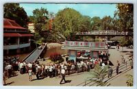 Vintage Postcard Hershey Amusement Park Turnpike Ride PA 1960s