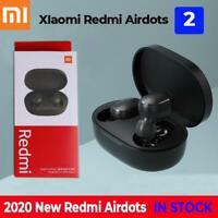 For Xiaomi Bluetooth 5.0 Redmi Airdots 2 TWS Wireless Headset Stereo Bass & Mic