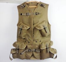 WWII US ARMY MILITARY VEST RANGER Combat Assault Vest Clothes CANVAS SIZE XL-163