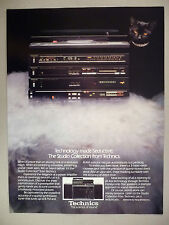 Technics Stereo Sound System PRINT AD - 1981 ~~ Studio Collection