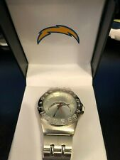 New listing San Diego Chargers Bolt NFL Watch in Case Quartz Analog Game Time Japan Movement