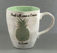 "Pineapple Coffee Mugs ""Stand Tall Wear a Crown Be Sweet"" i love It"