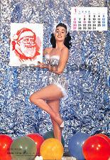 1963 Japan VINTAGE PINUP Calendar Beth Rogan VERY RARE