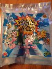2000 BURGER KING POKEMON POWER FAST FOOD TOY MR. MIME NJJ-0517 MINT IN BAG