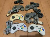 Sega Saturn Controller lot of 6 JAPAN SS SS111