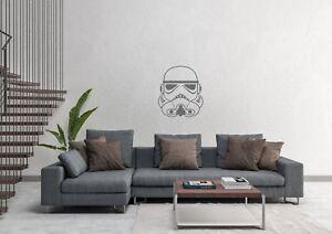 Stormtrooper Star Wars Inspired Space Decor Design Wall Art Decal Vinyl Sticker