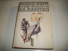 MORRIS WEST-UN TOCCO DA MAESTRO-CDE su licenza LONGANESI-1989-RILEGATO!
