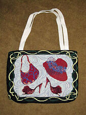 Red Hat Society Paint The Town Red Tapestry Tote Bag