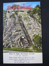 Rock of Ages, Burrington Combe, Somerset, Postcard