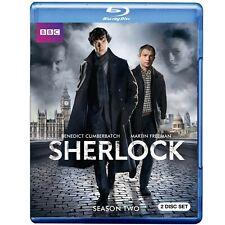 SHERLOCK SEASONS 1 & 2 Blu Rays, 2010 50i BD PAL capable players only