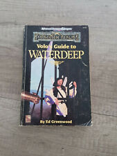 Volo's Guide to Waterdeep, Forgotten Realms, Advanced Dungeons & Dragons 2nd Ed
