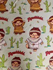 Vintage MONCHHICHI Fitted Twin Bed Sheet Pillowcase Monkey Monchichi Bursa