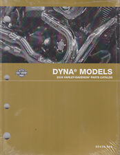 2008 Harley Dyna Wide Low Glide Rider Super Sport Parts Manual Catalog 99439-08A