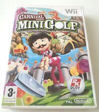 CARNIVAL GAMES MINI GOLF GIOCO NINTENDO WII SPED GRATIS SU + ACQUISTI!!