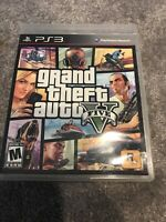 Grand Theft Auto V (Sony PlayStation 3, 2013) Complete With Map