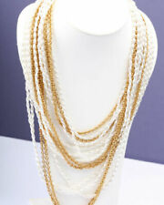1960s Pearl Vintage Costume Necklaces