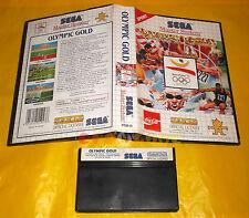 OLYMPIC GOLD Sega Master System Versione Europea PAL ○○ SENZA MANUALE - CQ
