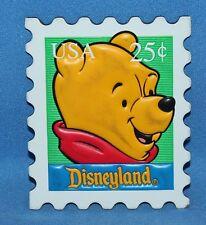 Nice Disneyland Winnie The Pooh Postage Stamp Magnet