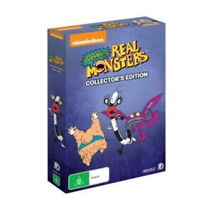 AAAHH!!! REAL MONSTERS COLLECTORS EDITION BOX SET DVD, NEW & SEALED, FREE POST