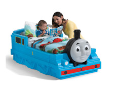 Step2 Thomas The Tank Engine Toddler Bed Bedroom Furniture Kids Friends Crib NEW