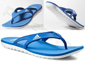 adidas Mens Performance Calo 5 Flip Flops Sandals Slippers Slides R. Blue/White