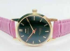 Genuine H.M.T Sona 17Jewels Hand Winding Made in  India  Wrist Watch.