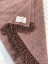 Bronte by Moon Brown Multi Colour  Throw  Pure New Wool Photos Show Size