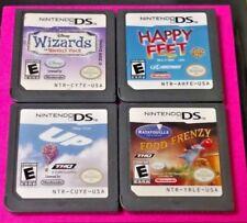 Disney Ratatouille UP Happy Feet Wizards - Nintendo DS Lite 2ds 3ds Game Lot